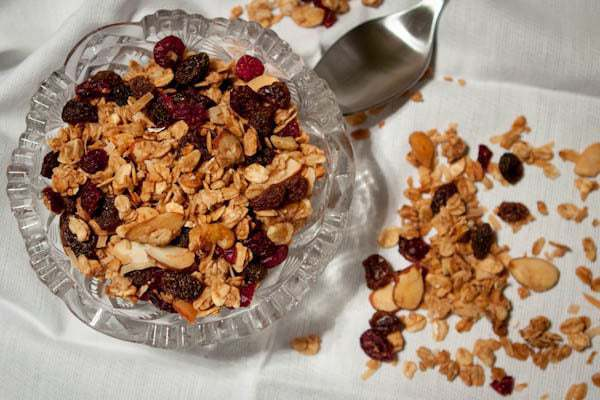 Homemade Granola With Coconut Oil-6416