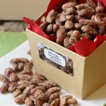 oven roasted cinnamon almonds