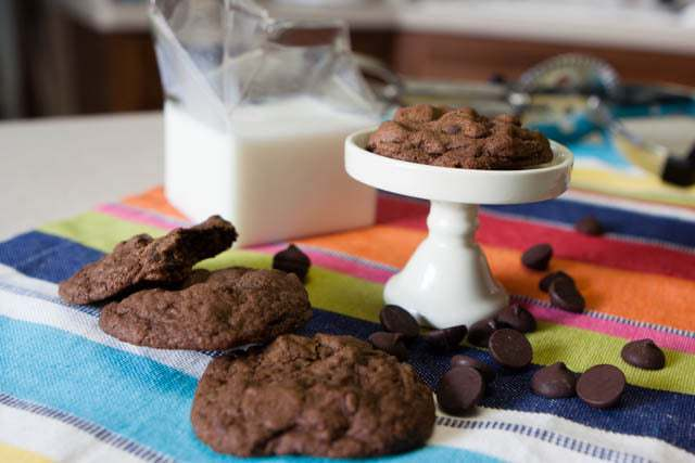 The Ultimate Chocolate Lovers Chocolate Chip Cookies