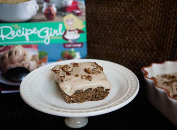 Recipe Girl's Banana-Carrot Cake with Cinnamon-Cream Cheese Frosting
