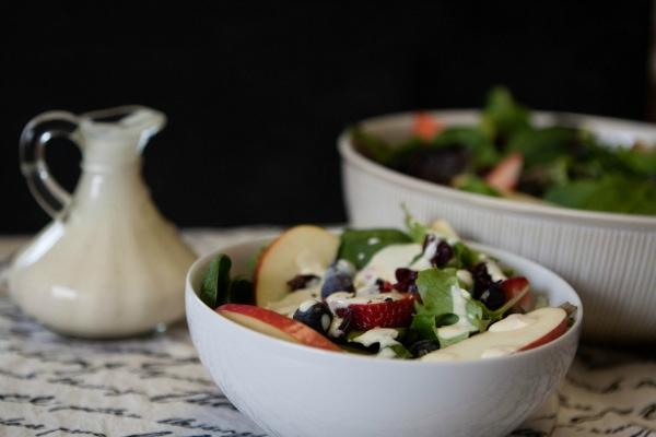 dijon white wine vinaigrette salad