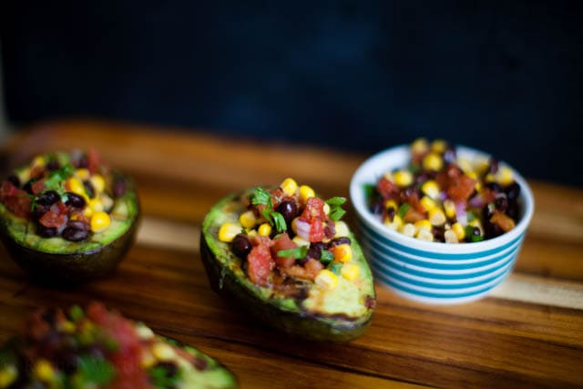 Grilled Stuffed Avocados for Cinco de Mayo