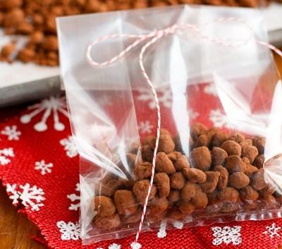 homemade chocolate covered espresso beans