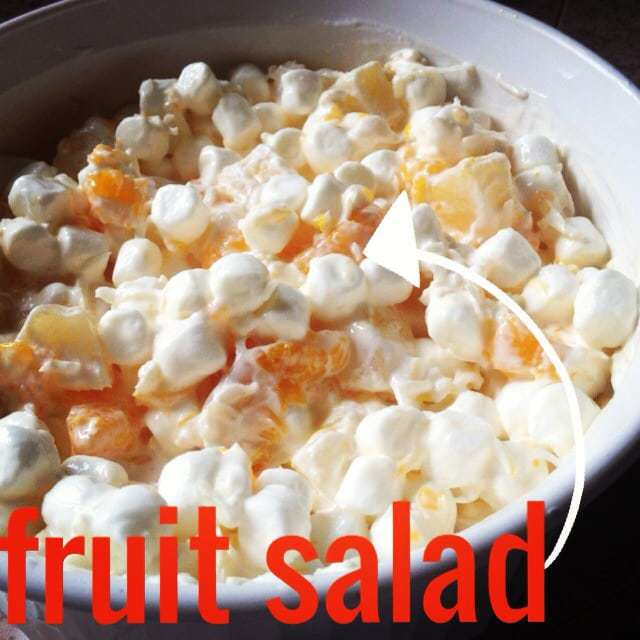 grandma's fruit salad