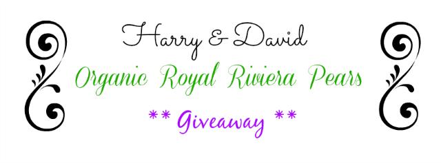Harry and David Organic Royal Riviera Pears