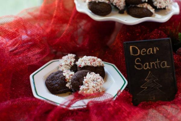 Dear Santa Cookies