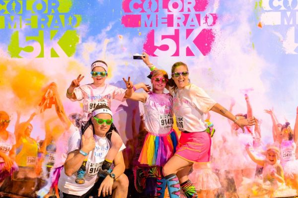 Happily Ever What color Me Rad family photo