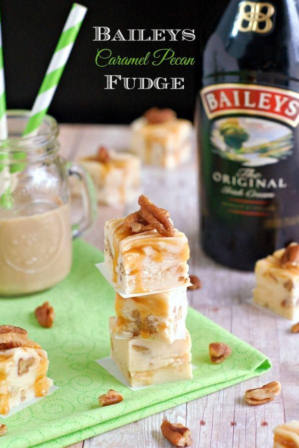 BAileys Caramel Pecan Fudge