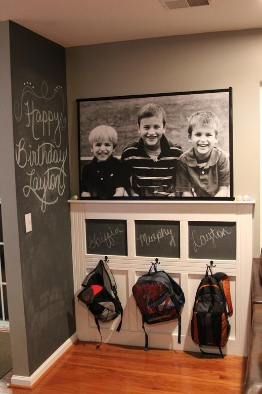 backpack wall on scattershot blog