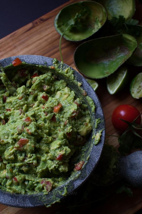 the best damn guacamole ever
