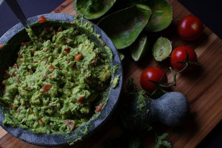 Simple Guacamole at Home