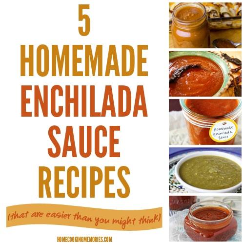 5 Homemade Enchilada Sauce Recipes | Homecooking Memories
