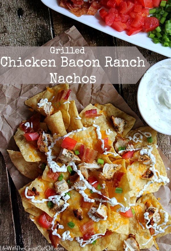 Grilled Chicken Bacon Ranch Nachos