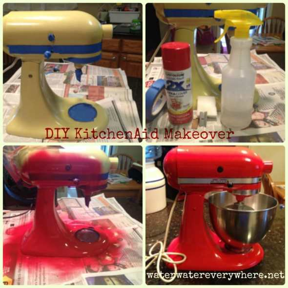 Vintage KitchenAid Mixer Makeover