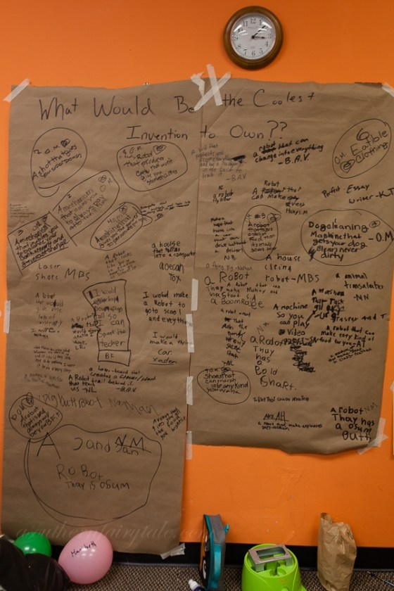 camp invention invent wall