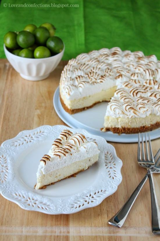 Key Lime Pie Cheesecake from Love and Confections
