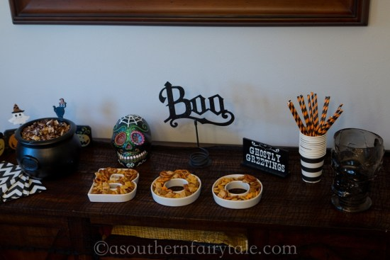 Halloween Chex Mix party
