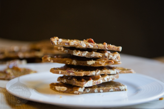 Crunchy, Salty, Delicious Bacon Pecan Brittle