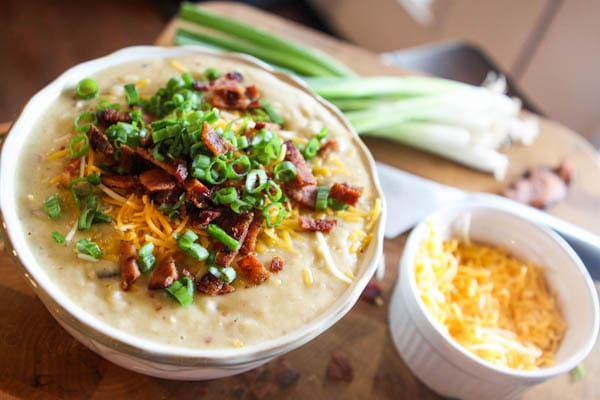 Nathan's Favorite Loaded Baked Potato Soup