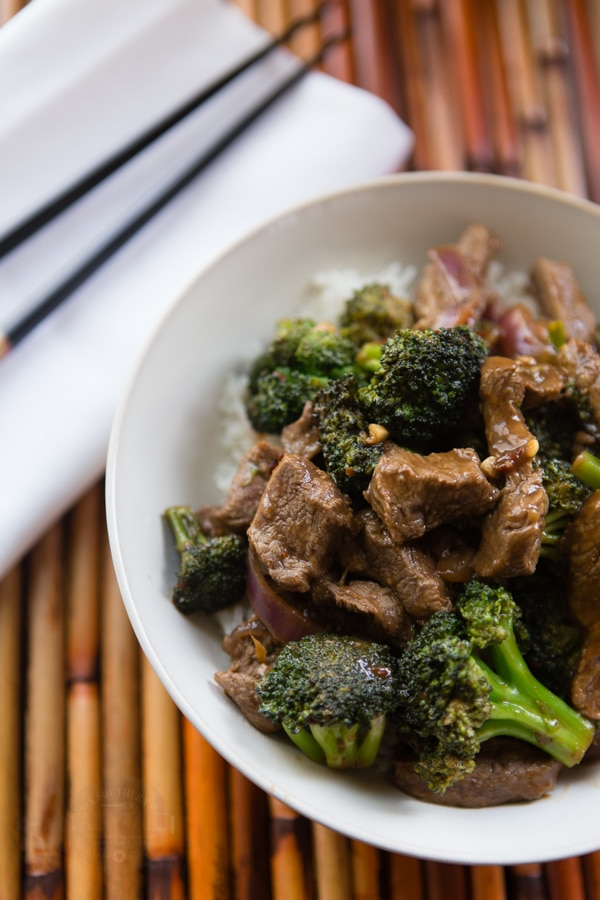 easy beef and broccoli stirfry