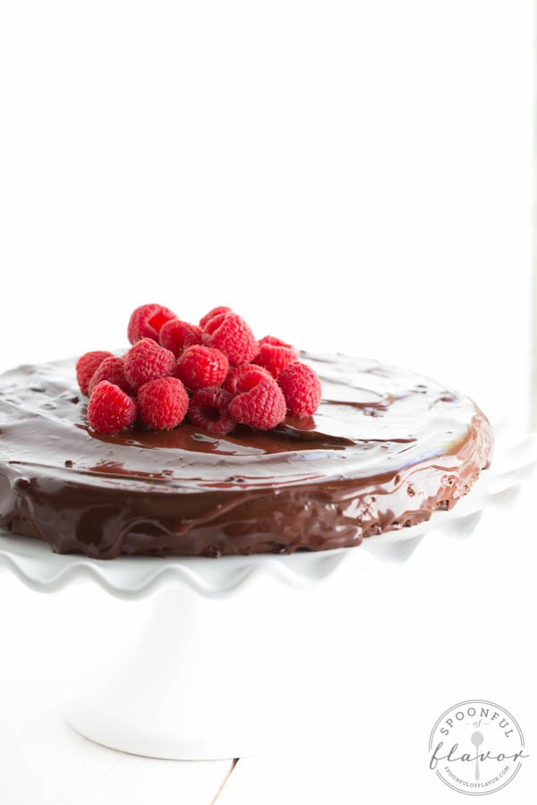 Flourless Chocolate Cake from Spoonful of Flavor