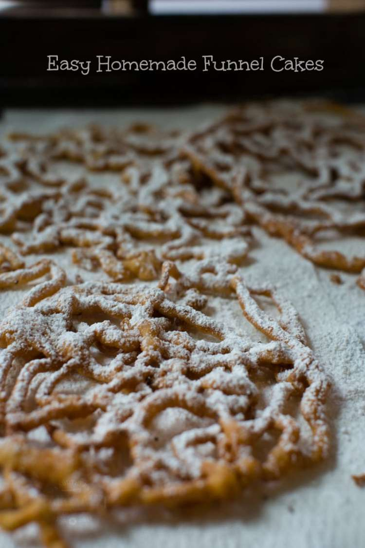 how to make funnel cakes at home | A Southern Fairytale