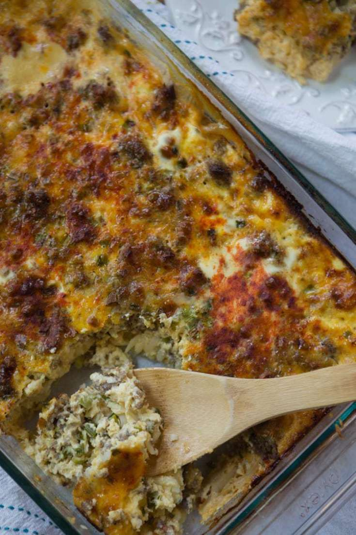 Simple and Delicious Sausage and Egg Breakfast Casserole