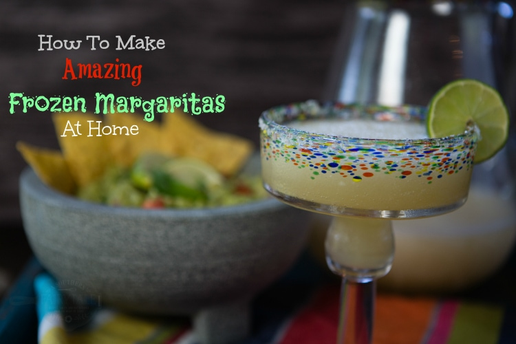 how to make frozen margaritas at home