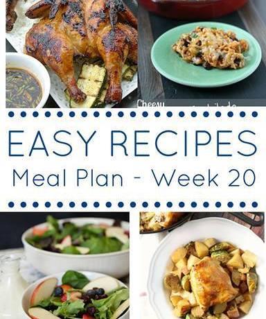 Weekly Meal Planning {Week 2 (20)}