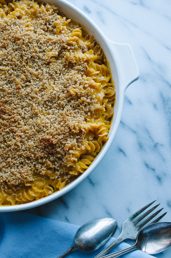 Butternut Baked Macaroni and Cheese from Taste, Love, Nourish