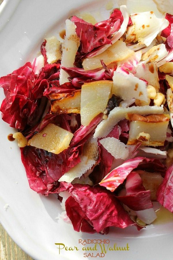 Radicchio-Pear-and-Walnut-Salad