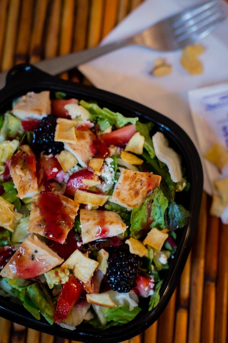 Wendy's Summer Berry Chicken Salad