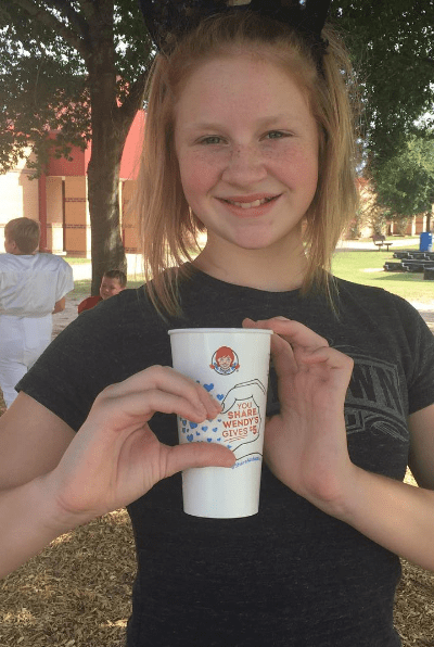 Share 4 Adoption with Wendy's Complete the Heart Campaign