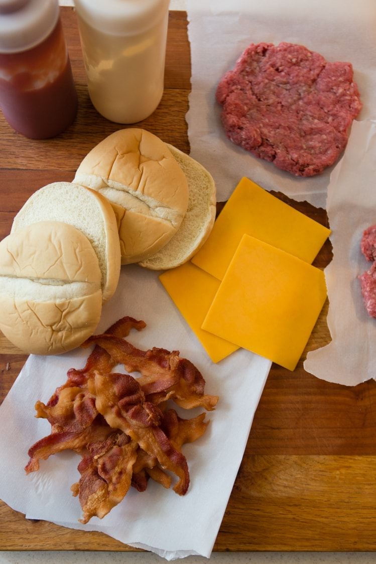 Baconator ingredients