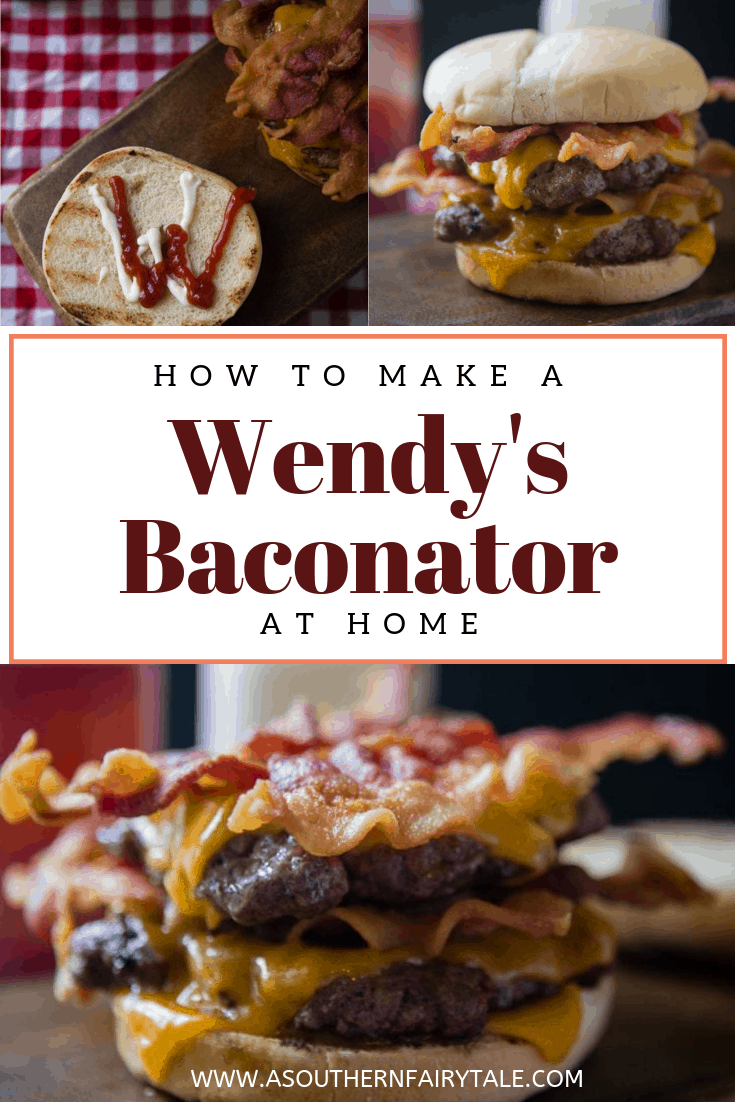 How to Make a wendy's baconator at home