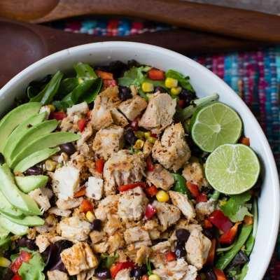 Spicy Southwest Style Blackened Tuna Salad