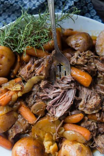 easy tender slow cooker pot roast