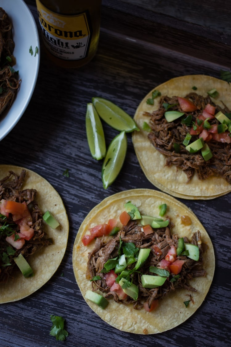 spicy slow cooker tacos