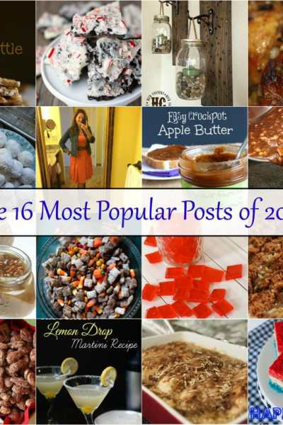 the 16 most popular posts on A Southern Fairytale of 2016