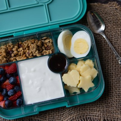 build your own yogurt parfait bento box breakfast