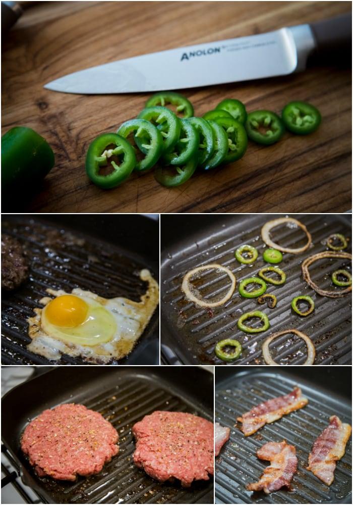keto friendly bacon cheeseburger bowls spicy prep