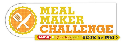 ConAgra HEB Meal Maker Challenge Vote for Me Logo - Final (2)