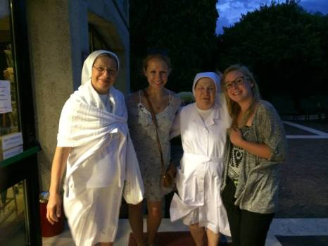 These nuns were so fun!