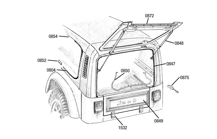 Jeep Wrangler Hard Top Parts Diagram • Wiring Diagram For Free