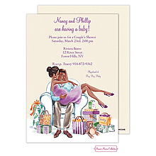 African American Baby Shower Invitations New Selections