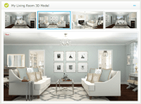 Virtual Interior Design from A Space To Call Home