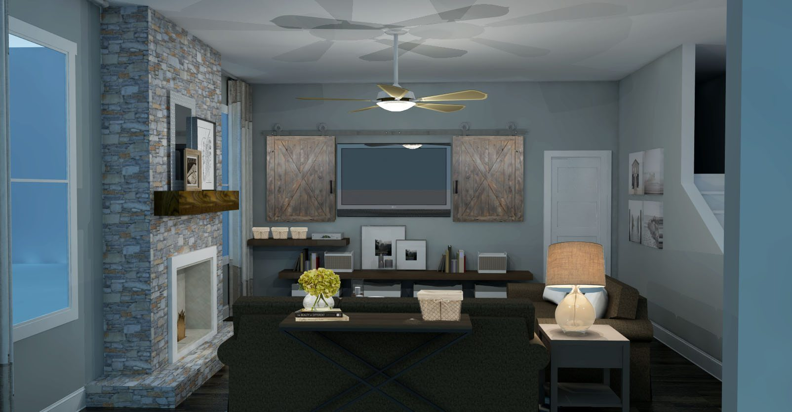 images of modern rustic living rooms best paint color for room with dark furniture design