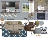 Modern Rustic Living Room Design - A Space to Call Home