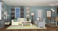 Coastal Contemporary Living Room Design - A Space to Call Home