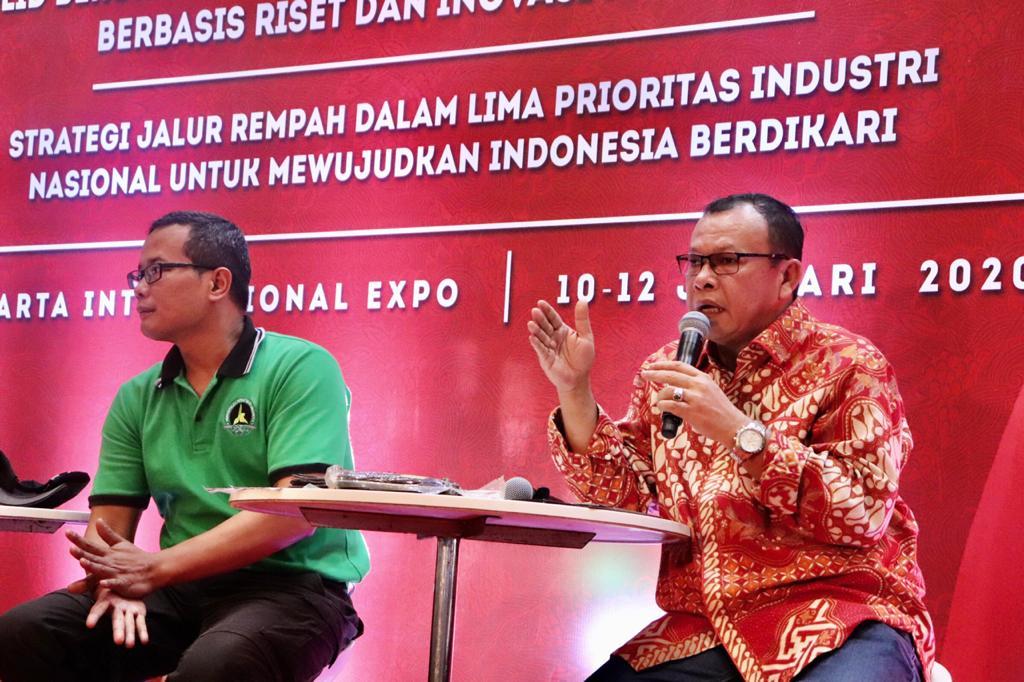 Hari Kedua Pameran Industri Berbasis Riset dan Inovasi Nasional